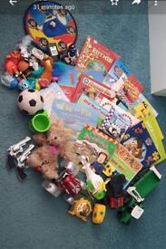 Miscellaneous Boys Books and Toys