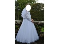 First Communion Dress and accessories