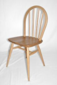 Vintage Retro 60's Ercol Windsor Chair (model 400) - As New - Fully Renovated - 12 Chairs Available