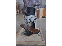 Milling and drilling machine for metal table 700x180 mm fi 25 mm HOT SALE