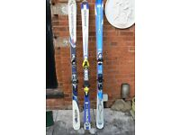 Skis for sale. A choice of 3!