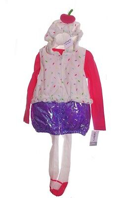 Baby Girls Carters CUPCAKE Halloween Purim Costume  3 6 9 12 18 24 Months NEW ()