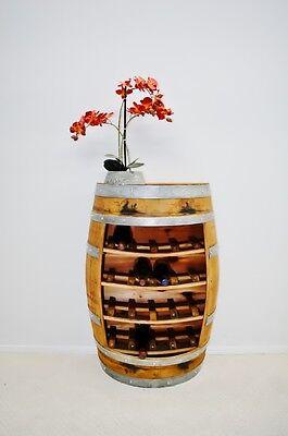 Wine Barrel Rack, 20 Bottles,Staves / Handcrafted 20 Bottle Wine Furniture