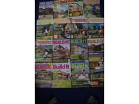 JOB LOT 17 HOME BUILDING MAGAZINES-SELF BUILD/RENOVATION-1990's-2000-GOOD USED-COLLECT ONLY BENFLEET