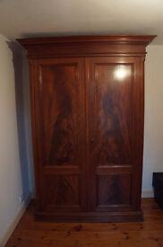 Beautiful large wardrobe - solid wood