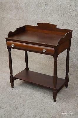 Early 19th Century Hand Built Washstand Nightstand Side End Tables