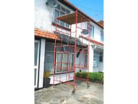 DIY Scaffold Tower 4m reach