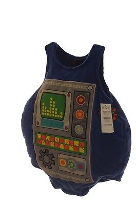TCP Baby Toddler Blue Robot Halloween Costume Infant NB Newborn 0 6 Months NEW