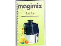 """Magimix Le Duo juice extractor. """"Juicer"""""""