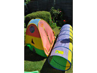 Pop up kids tent & tunnel from Early Learning Centre