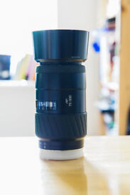 Minolta AF 75-300mm F4.5-5.6 lens fits Sony Alpha cameras