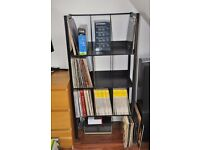 vinyl record storage racks .