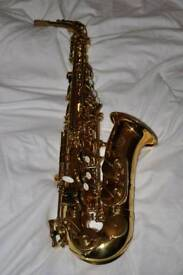 Unused saxophone REDUCED