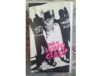 This is video Clash vhs video punk