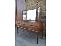 vintage retro stag minstrel dressing table