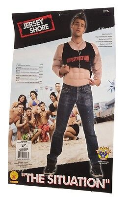 Jersey Shore The Situation Mike Sorrentino Halloween Muscle Costume Md Lg XL NEW](Jersey Shore Costume)