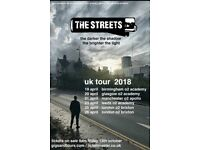 2 X The streets tickets leeds O2