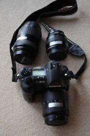 Olympus DSLR Kit (Camera and Lenses)