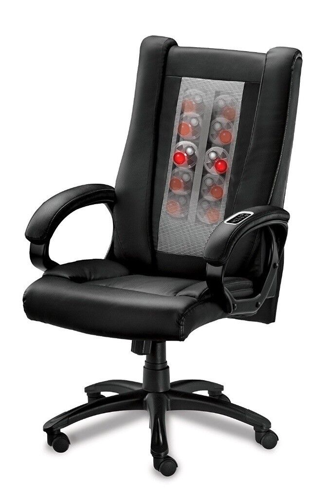 Rrp 399 Hocs Shiatsu Massaging Office Chair Like New
