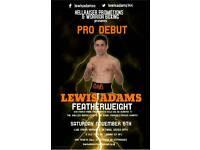Pro debut Boxing!!