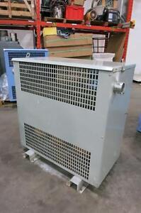 DELTA CU/AL Transformer, 112.5 kVA, 600-120/208