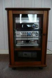 GPlan Hi-fi cabinet