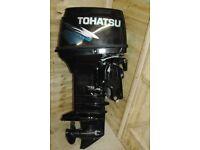 Tohatsu 50hp two stroke outboard