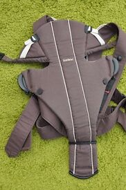 Babybjorn Active Baby Carrier Brown / Cream in great condition