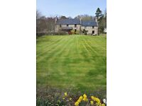 Crossburn, Clashmore detached house in substantial grounds just outside of Dornoch
