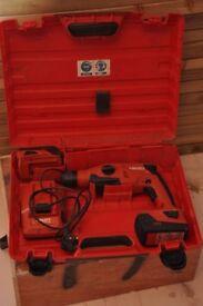 Cordless Hilti hammer drill -TE 2-A22