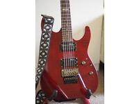 ESP LTD M-100FM - Black Cherry - Electric Guitar