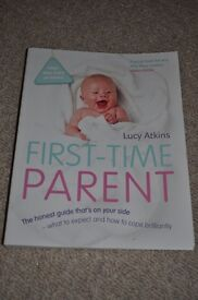 Book: first time parent, the honest guide. In good condition.