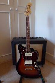 Fender American Special Jazzmaster Guitar. 3 Tone Burst.