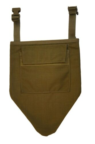 US Military MSAP Groin Protector Khaki Pouch Cover Only No Inserts Khaki