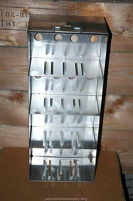 Cryogenic Cryo Storage Rack Stainless Steel -80 Freezer Tray Rack 22 X 5.5 X 9