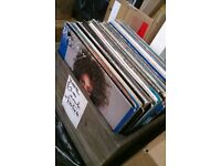 "random box load of rock pop oldies lp and 12"" records job lot approx 70 records"