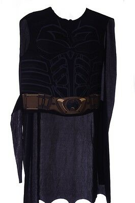 The Dark Night Costume (Boys Batman The Dark Night Rises Halloween Costume Overlay Cape medium 7 8)