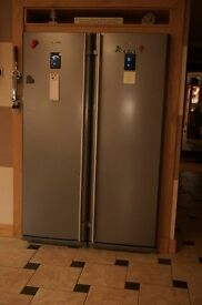 2 x Samsung RR82EDMH 1.8m tall Fridges