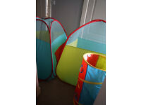 ELC Pop Up Tents With Tunnel