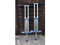 2 OzBozz Cool Jump Pogo sticks