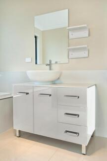 Bathroom Vanity Unit Stone Top Cabinet Bathroom Furniture Basin Underwood Logan Area Preview
