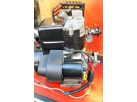atco balmoral qualcast classic 35s 43s suffolk punch Engine with a starter motor on