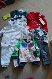 BNWT Baby Boy Clothes 0-3/3-6 months