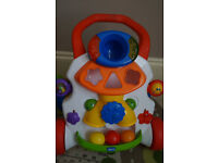.Chicco Baby Steps Activity Walker /complete with balls