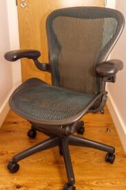 herman miller aeron office chair (size B medium)