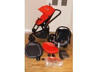 QUINNY MOOD pushchair / pram 2 In 1 and accessories