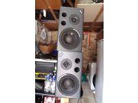 Alesis Mk2 active studio monitors, speakers active
