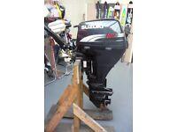 SUZUKI 9.9hp (15hp) OUTBOARD ENGINE SHORT SHAFT, TILLER CONTROL 4 STROKE 1999