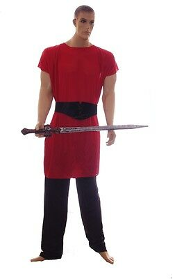 Mens Gladiator Halloween Costume Crusader SWORD Warrior Big & Tall 2XL XXL NEW