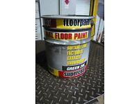20 Ltr Supercoat green floor paint